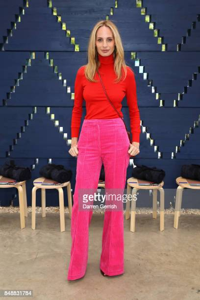 Lauren Santo Domingo attends the Roksanda show during London Fashion Week September 2017 on September 18 2017 in London England