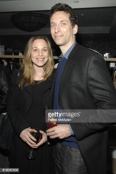 Lauren Shenkman and Bill Shenkman attend THE CINEMA SOCIETY SCREENVISION host the after party for 'THE GHOST WRITER' at Crosby Street Hotel on...