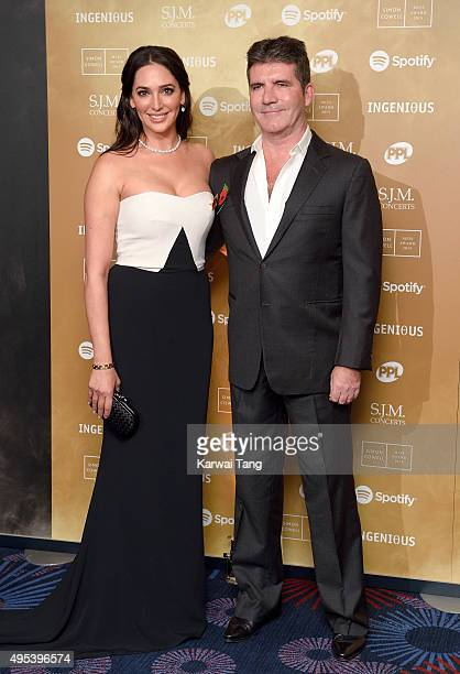 Lauren Silverman and Simon Cowell attend the Music Industry Trusts Awards in aid of the Nordoff Robbins charity and BRIT Trust at The Grosvenor House...