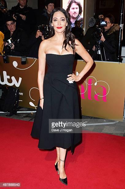 Lauren Silverman attends the ITV Gala at London Palladium on November 19 2015 in London England