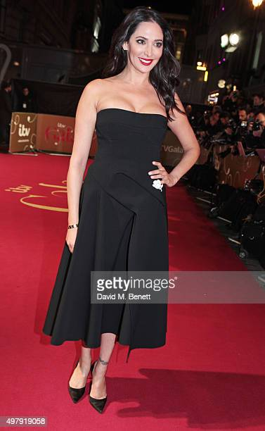 Lauren Silverman attends the ITV Gala at the London Palladium on November 19 2015 in London England