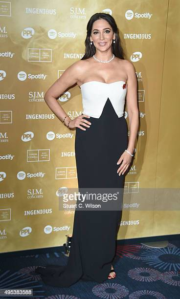 Lauren Silverman attends the Music Industry Trust Awards at The Grosvenor House Hotel on November 2 2015 in London England