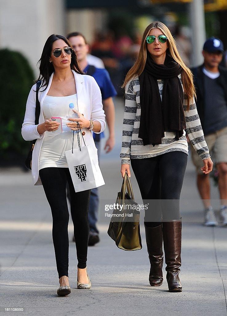 Lauren Silverman is seen in Soho on September 18, 2013 in New York City.