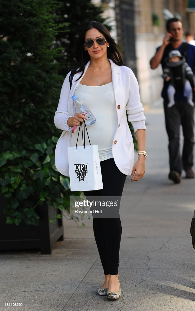 Lauren Silverman is seen in Soho on September 18, 2013 in New York City.