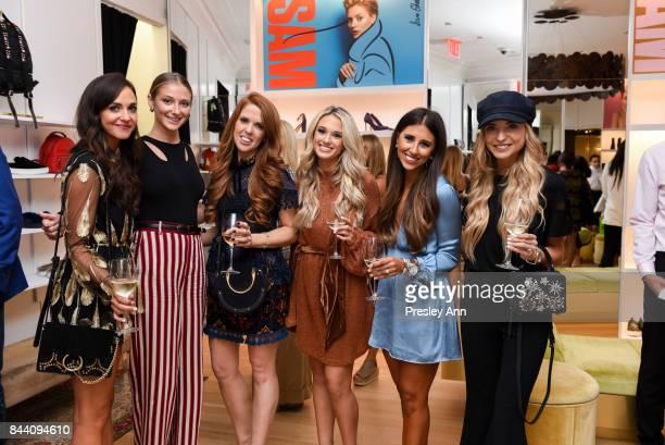 Lauren Steele Suede Brooks Tara Gibson Emily Heron Dede Rad and Dani Austin attend Sam Edelman NYFW Fashion Refresh on September 7 2017 in New York...