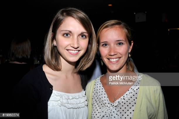Lauren Steitz and Kelly Bird attend The East Harlem School presents 2010 Spring Poetry Slam at Highline Ballroom on May 4 2010 in New York City