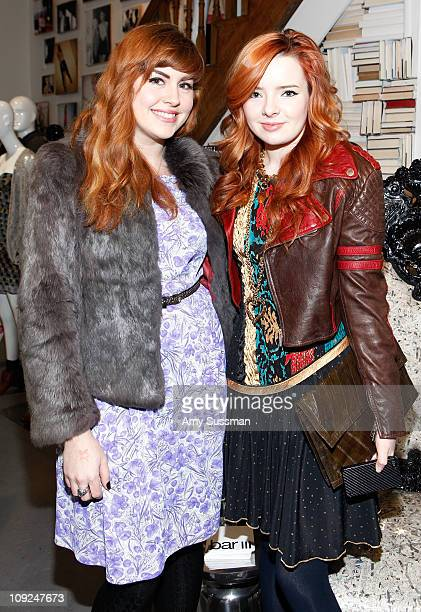 Lauren Stern and blogger Jane Aldridge attend the bar III PopUp Shop Women's consumer event with The Bumby's presented by FIJI Water official bottled...