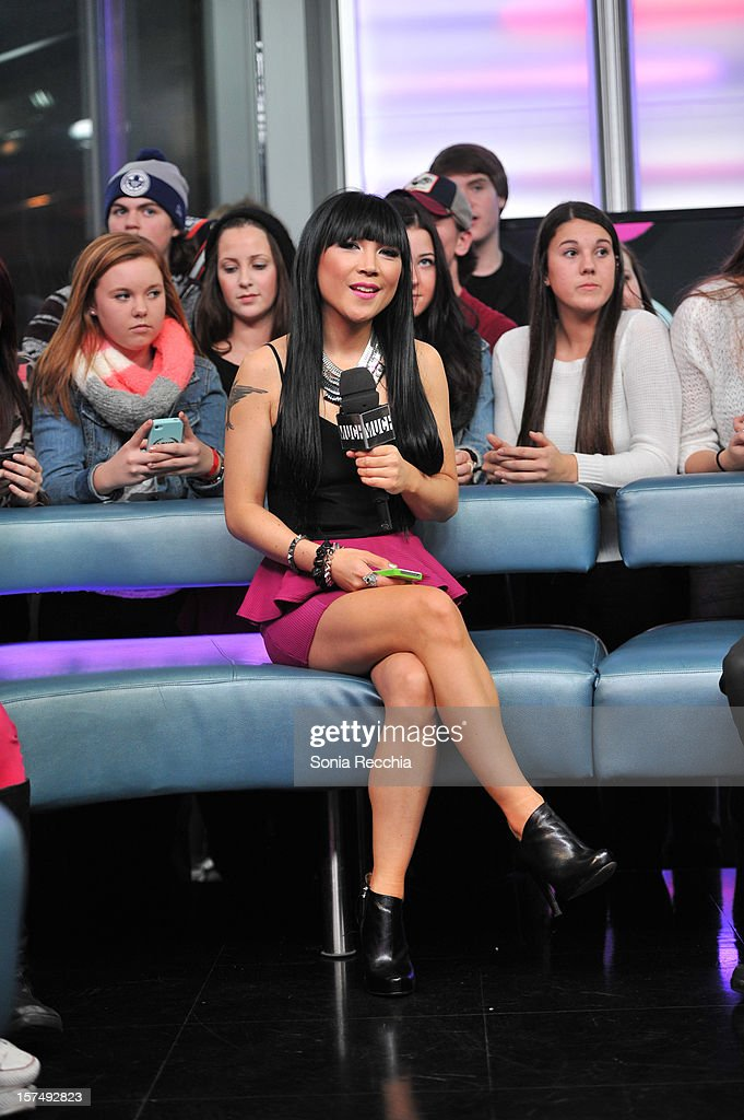 Lauren Toyota at Austin Mahone On New.Music.Live at MuchMusic Headquarters on December 3, 2012 in Toronto, Canada.
