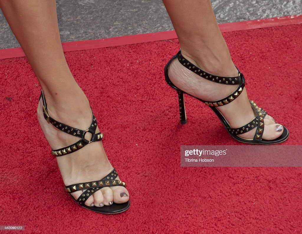 Lauren Weedman (shoe detail) attends the 2014 Outfest Los Angeles panel discussion for 'Inside Looking' at DGA Theater on July 12, 2014 in Los Angeles, California.