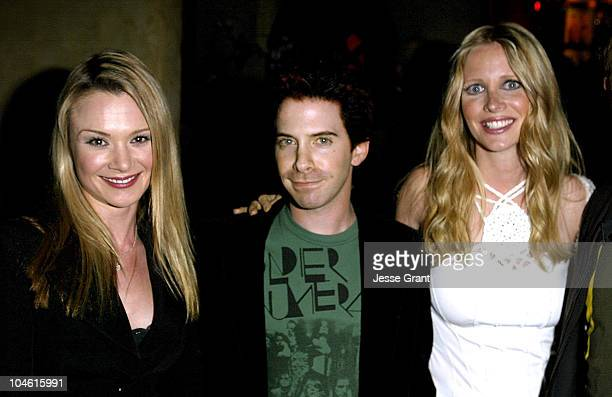 Lauren Woodland Seth Green and Lauralee Bell during 'On Sunset' Grand Opening Party Inside at 'On Sunset' 'Le Dome' in West Hollywood California...