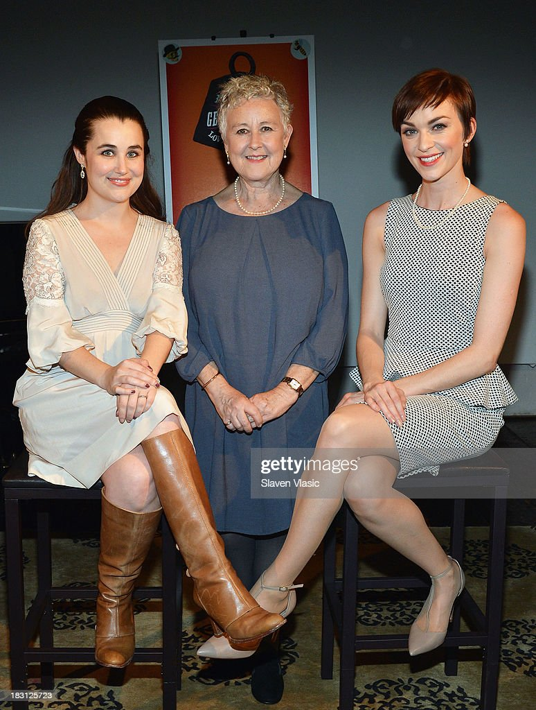 Lauren Worsham, Jane Carr and Lisa O'Hare attend 'A Gentleman's Guide To Love And Murder' Press Preview at Norwood Club on October 4, 2013 in New York City.