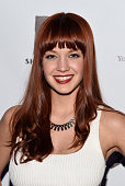 Lauren Zakrin attends the 'Rock Of Ages' Broadway cast reunion concert at Highline Ballroom on January 25 2016 in New York City