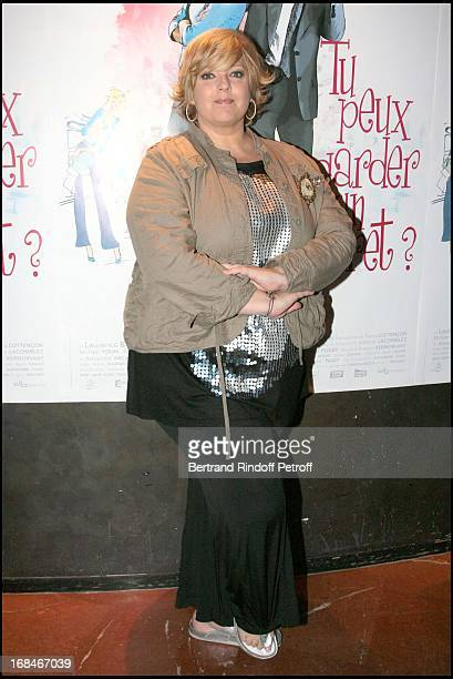 Laurence Boccolini at Paris Premiere Of The Film Tu Peux Garder Un Secret At L' Elysee Biarritz