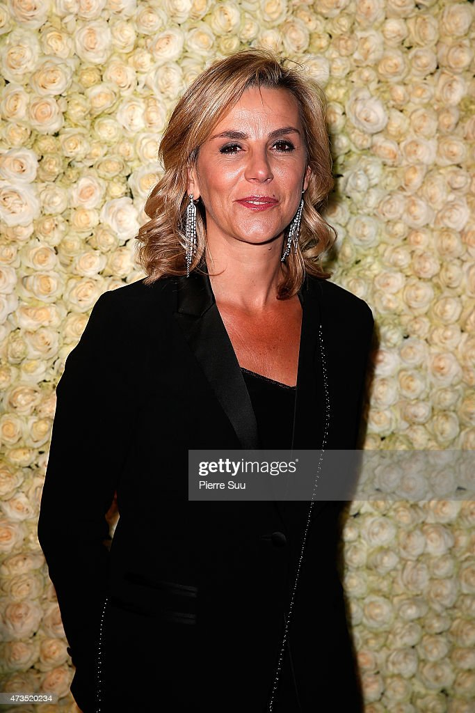 Laurence Ferarri attends a party to celebrate the opening of the new Bulgari boutique during the 68th annual Cannes Film Festival on May 15 2015 in...