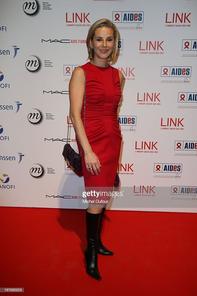 Laurence Ferrari attends the AIDES International Gala Dinner at Grand Palais on November 27, 2012 in Paris, France.