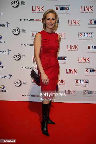 Laurence Ferrari attends the AIDES International Gala Dinner at Grand Palais on November 27 2012 in Paris France