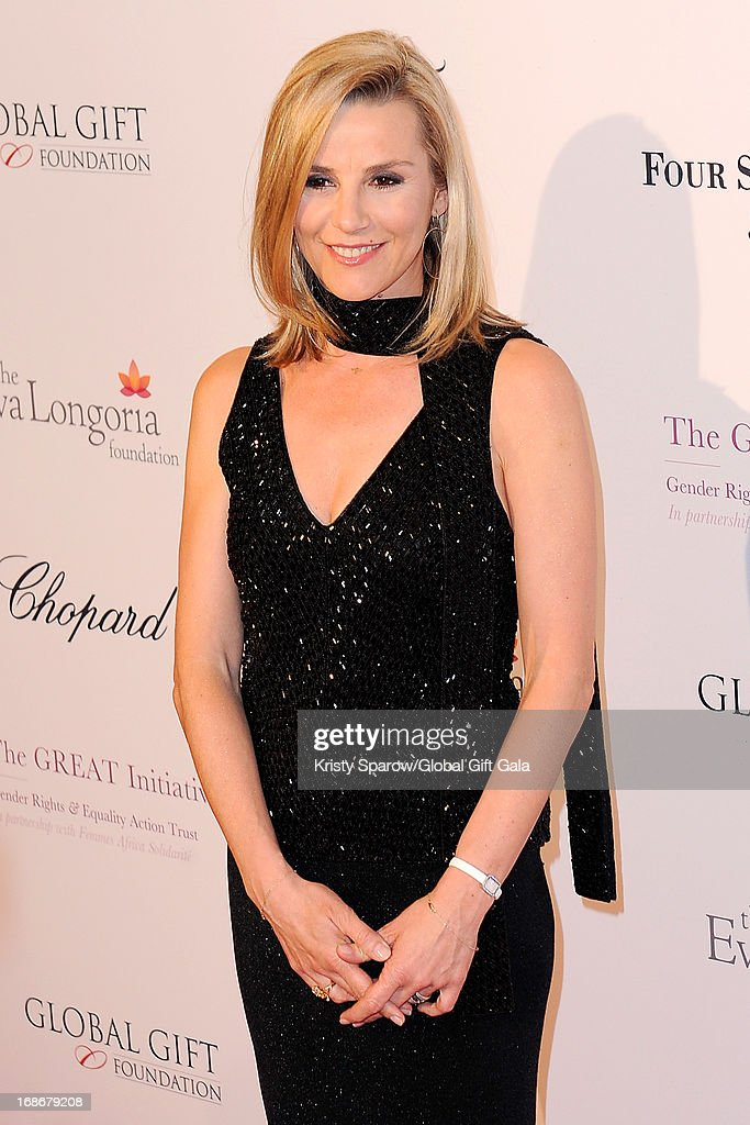 Laurence Ferrari attends the 'Global Gift Gala' at Hotel George V on May 13, 2013 in Paris, France.