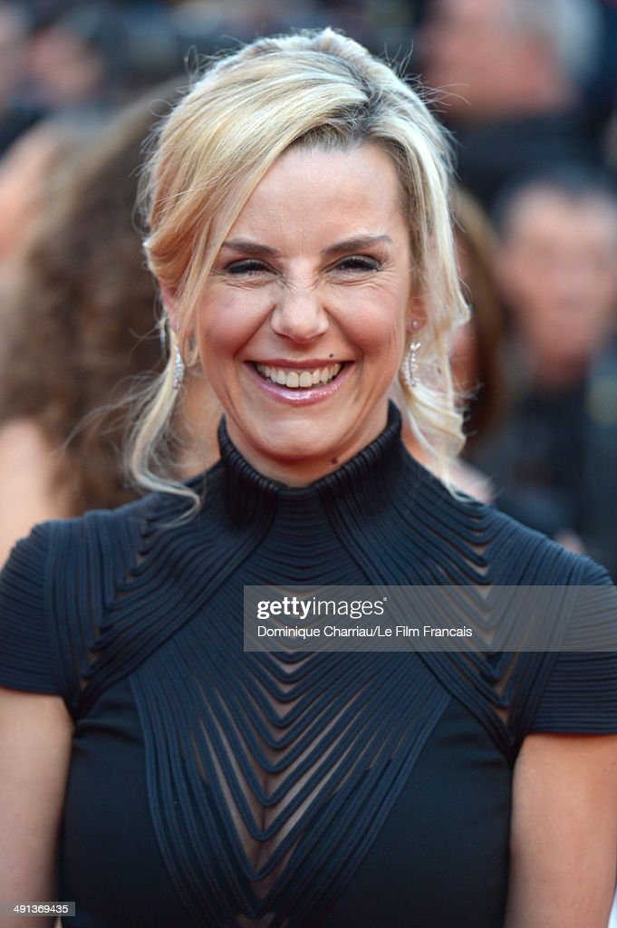 Laurence Ferrari attends the 'How To Train Your Dragon 2' Premiere at the 67th Annual Cannes Film Festival on May 16 2014 in Cannes France