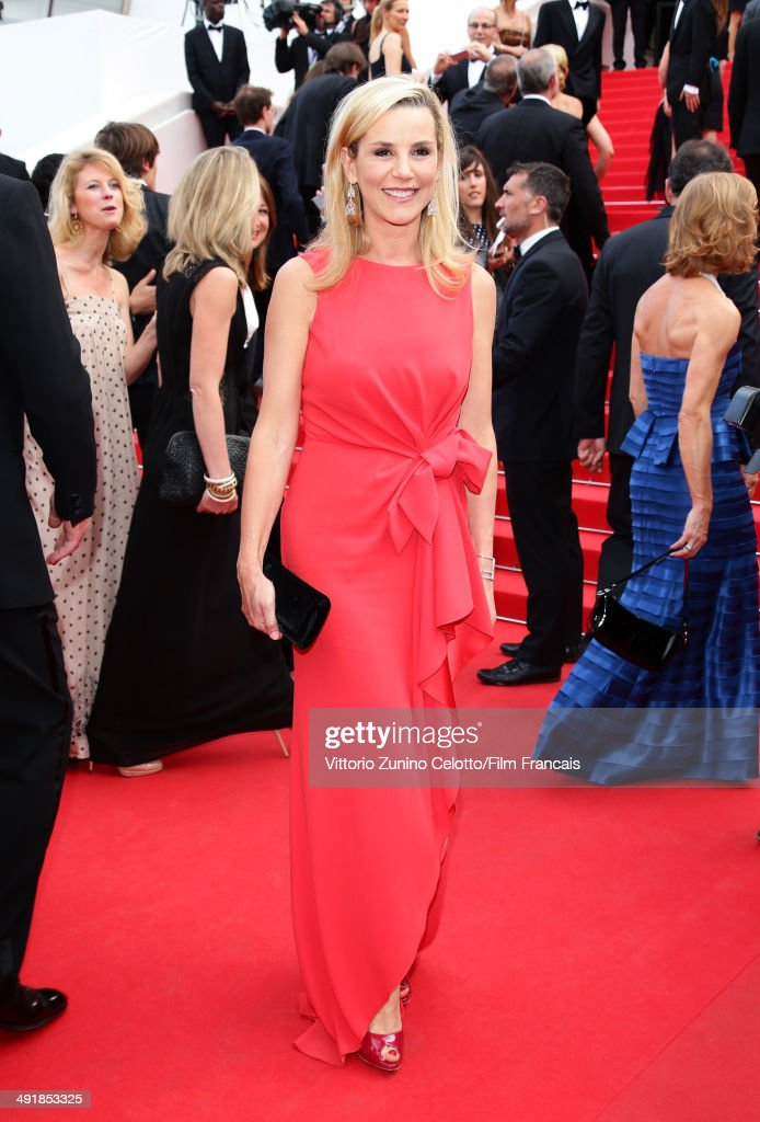 <a gi-track='captionPersonalityLinkClicked' href=/galleries/search?phrase=Laurence+Ferrari&family=editorial&specificpeople=777181 ng-click='$event.stopPropagation()'>Laurence Ferrari</a> attends the 'Saint Laurent' Premiere at the 67th Annual Cannes Film Festival on May 17, 2014 in Cannes, France.