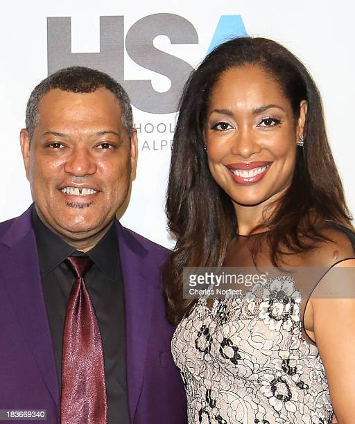 Lawrence Fishburne Wife Stock Photos and Pictures | Getty ...