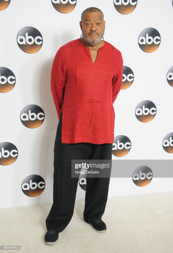 Laurence Fishburne arrives at the 2017 Summer TCA Tour - Disney ABC Television Group at The Beverly Hilton Hotel on August 6, 2017 in Beverly Hills, California.