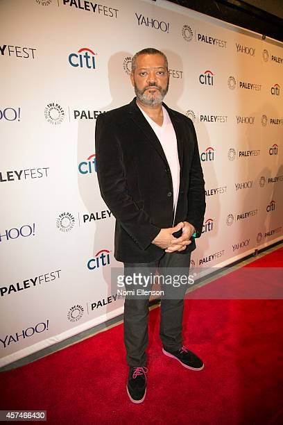 Laurence Fishburne attends the 2nd Annual Paleyfest New York Presents 'Hannibal' at Paley Center For Media on October 18 2014 in New York New York