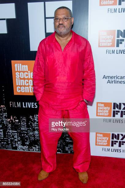Laurence Fishburne attends the 55th New York Film Festival opening night premiere of 'Last Flag Flying' at Alice Tully Hall Lincoln Center on...