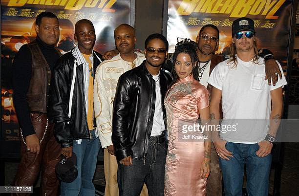 Laurence Fishburne Derek Luke Reggie Rock Bythewood Larenz Tate Lisa Bonet Orlando Jones Kid Rock