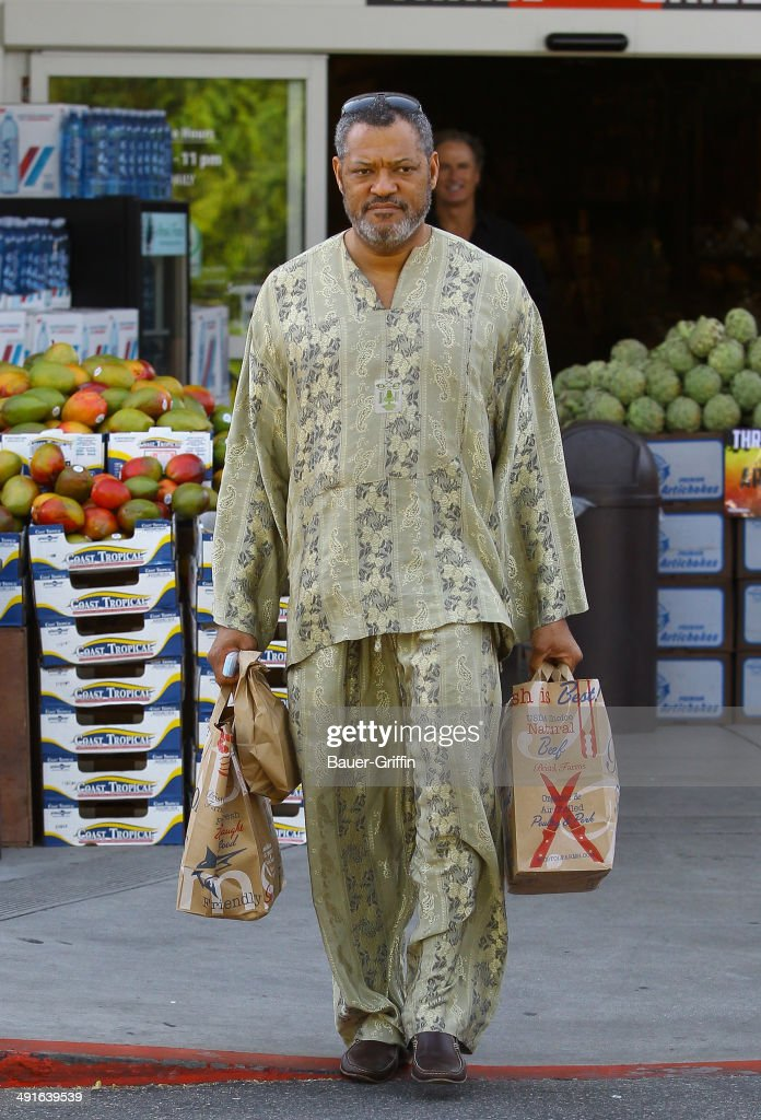 <a gi-track='captionPersonalityLinkClicked' href=/galleries/search?phrase=Laurence+Fishburne&family=editorial&specificpeople=206347 ng-click='$event.stopPropagation()'>Laurence Fishburne</a> is seen on May 16, 2014 in Los Angeles, California.