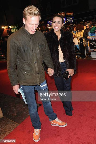 Laurence Fox and Billie Piper attend the 'Submarine' premiere during the 54th BFI London Film Festival at the Vue West End on October 22 2010 in...