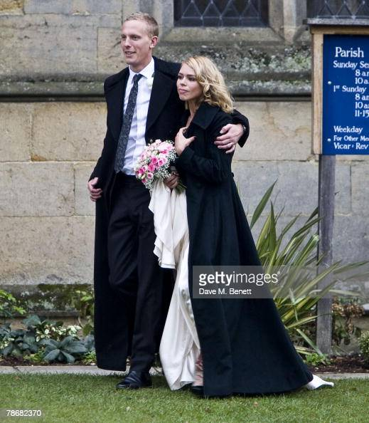 Billie Piper And Laurence Fox Wedding Photos And Images