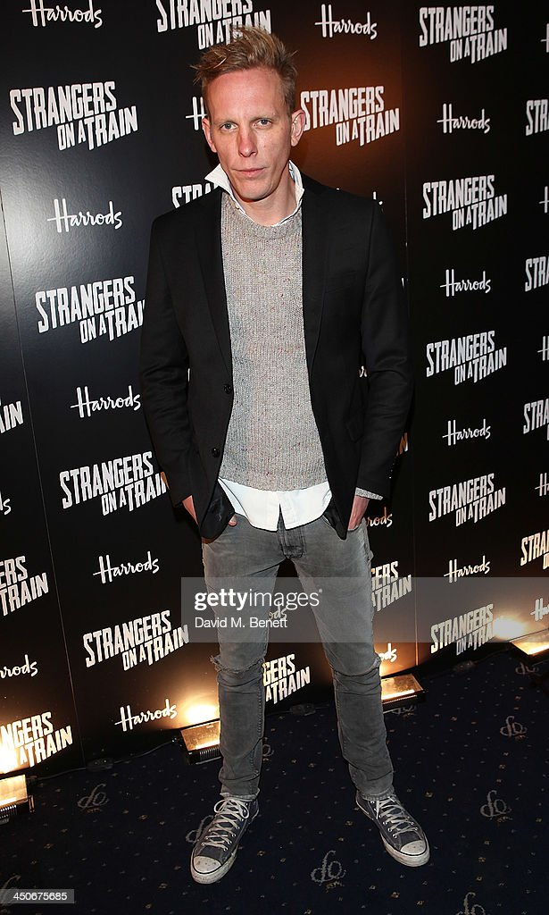 Laurence Fox attends an after party following the press night performance of 'Strangers On A Train' at the Cafe de Paris on November 19, 2013 in London, England.