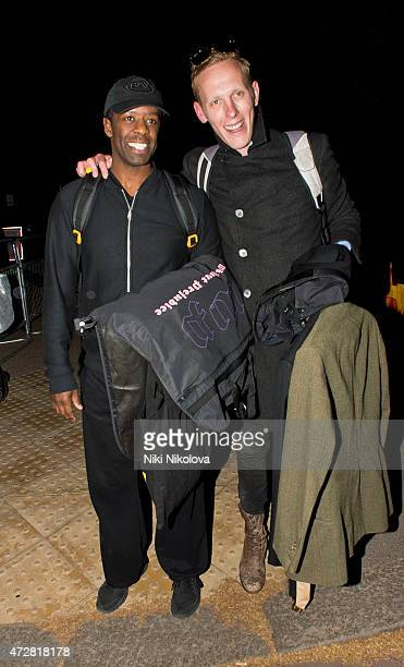 Laurence Fox is seen leaving the V Day Concert on May 09 2015 in London England