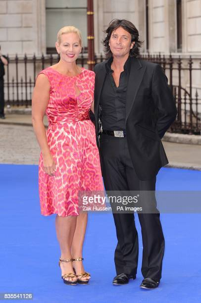 Laurence LlewelynBowen and wife Jackie LlewelynBowen arrive at the Royal Academy of Arts Summer Exhibition Preview Party 2009 at Royal Academy of...