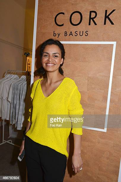 Laurence Roustandjee attends the Basus Cocktail at Le Perchoir on March 18 2015 in Paris France