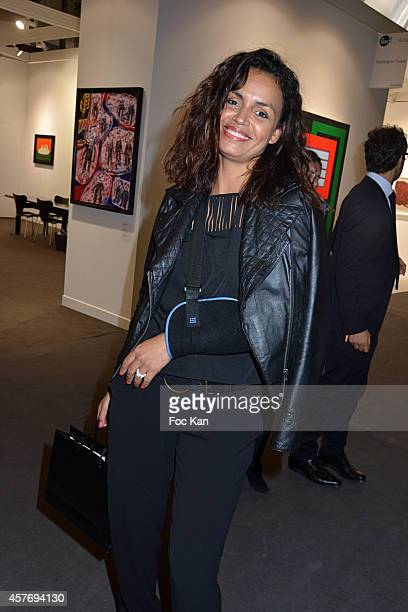 Laurence Roustandjee attends the FIAC 2014 International Contemporary Art Fair Press Preview At Le Grand Palais on October 22 2014 in Paris France