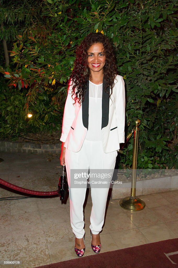 Laurence Roustandjee attends the 'Mademoiselle C' Party at Pavillon Ledoyen, as part of the Paris Fashion Week Womenswear Spring/Summer 2014, in Paris.