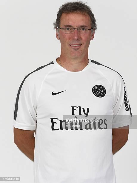 Laurent BLANC Portrait Officiel Paris Saint Germain Photo Gavelle / PSG / Icon Sport/MB Media
