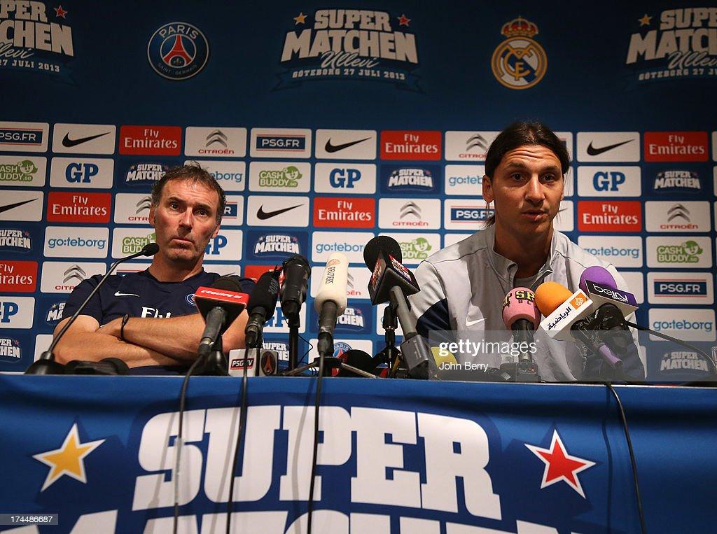 Paris Saint-Germain FC Training Session