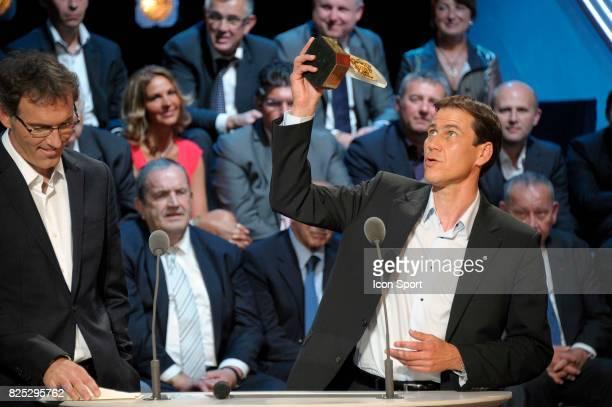 Laurent BLANC / Rudi GARCIA Meilleur Entraineur de Ligue 1 Trophee UNFP 2011