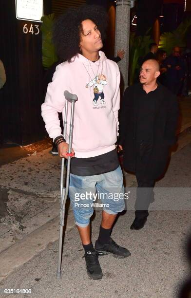 Laurent Bourgeois of Les Twins Seen on February 12 2017 in Los Angeles California