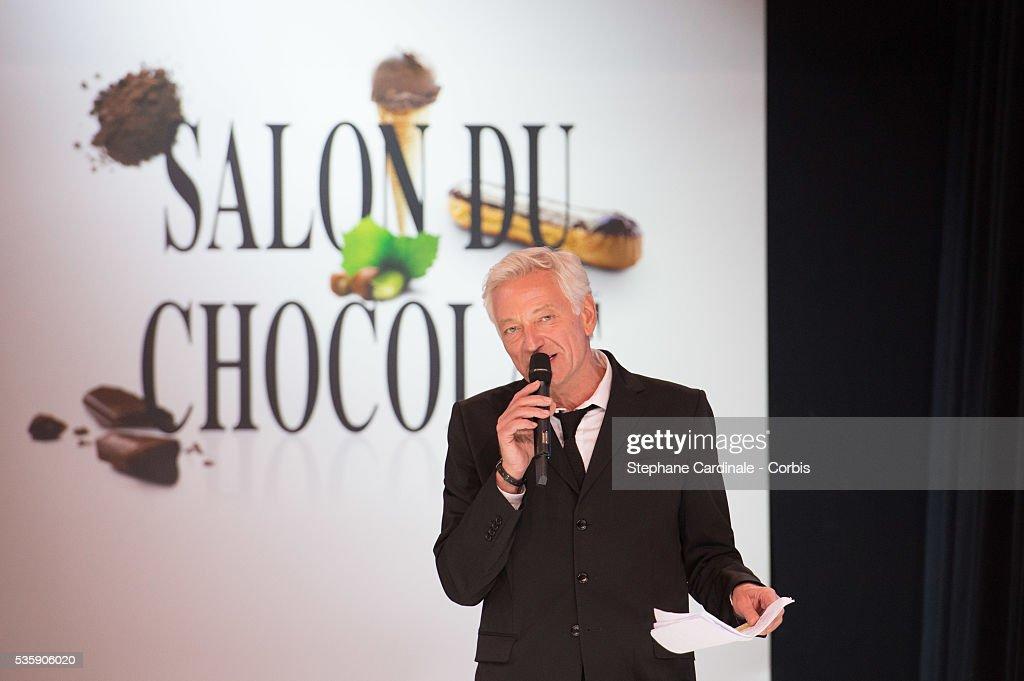 Laurent Boyer during the Fashion Chocolate Show at Salon du Chocolat at Porte de Versailles, in Paris.