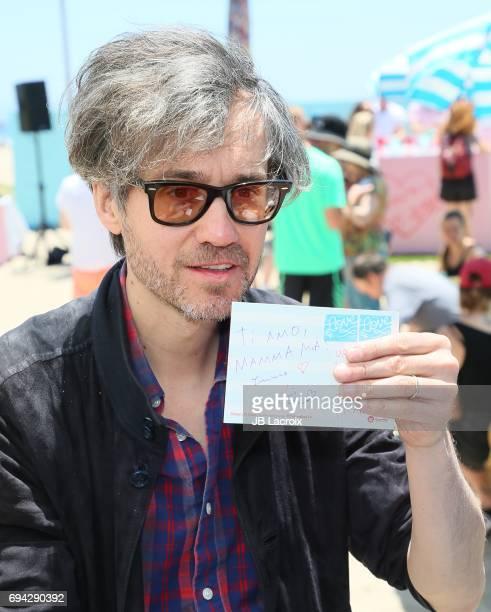 Laurent Brancowitz of Phoenix celebrates the release of their new album 'Ti Amo' on June 09 2017 in Venice Beach California