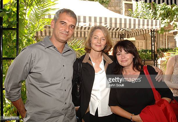 Laurent Cantet director Charlotte Rampling and Louise Portal