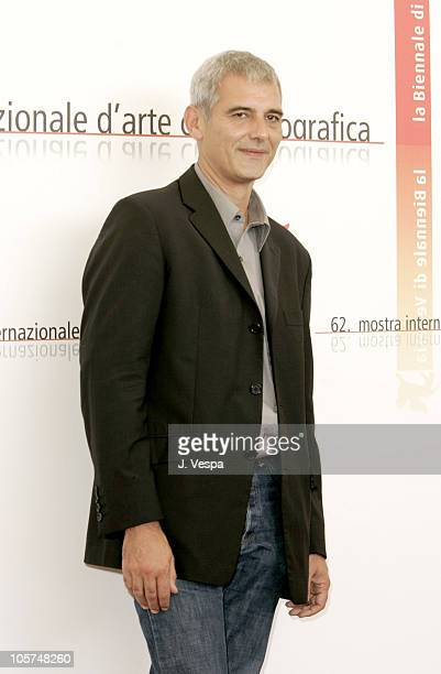 Laurent Cantet director during 2005 Venice Film Festival 'Vers Le Sud' Photocall at Casino Palace in Venice Lido Italy