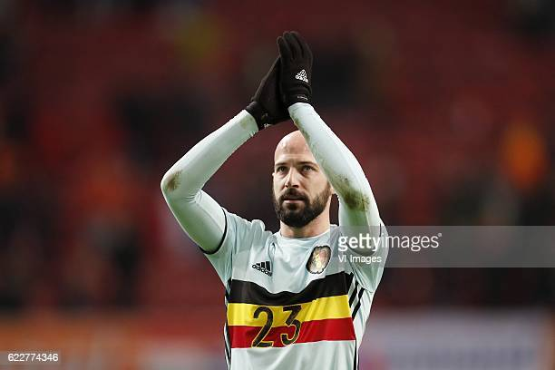 Laurent Ciman of Belgiumduring the friendly match between Netherlands and Belgium at the Amsterdam Arena on November 09 2016 in Amsterdam The...