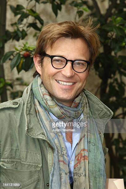 Laurent Delahousse attends 'La Flamme Marie Claire' 3rd edition at Salon FranceAmeriques on May 10 2012 in Paris France