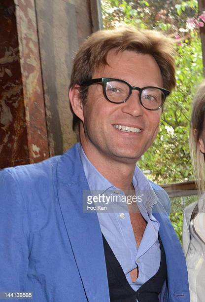 Laurent Delahousse attends 'La Flamme Marie Claire' 3rd Edition Press Conference at the Salon FranceAmeriques on May 10 2012 in Paris France