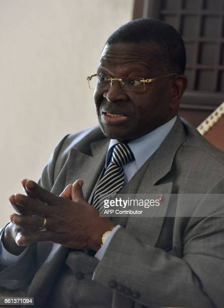 Laurent Dona Fologo former leader of the Assembly for Peace Equity and Progress and former minister of first Ivory Coast's President Félix...