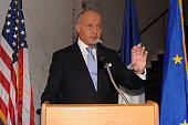 Laurent Fabius French Minister of Foreign Affairs and International Development attends Sony Pictures Classic CoPresidents Tom Bernard and Michael...